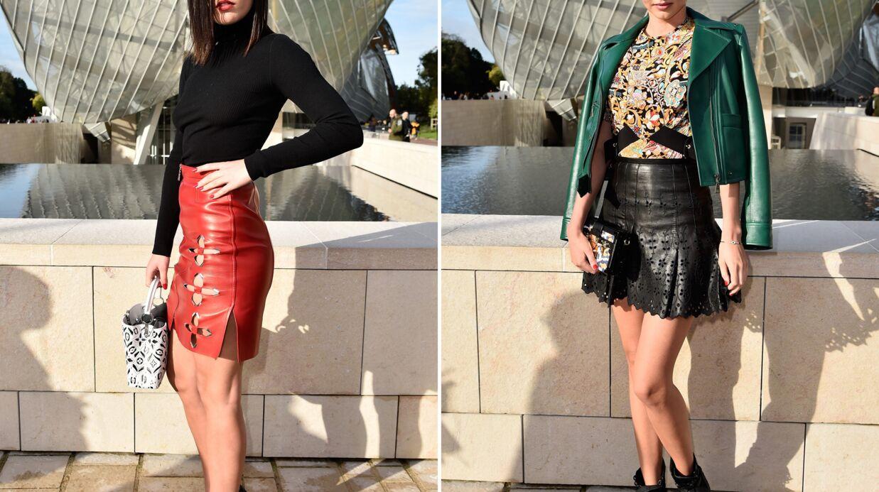 PHOTOS Bataille de mini-jupes entre Miranda Kerr et Adèle Exarchopoulos pour Louis Vuitton