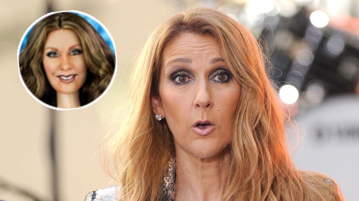 La poupée (bien) ratée de Céline Dion rend son manager furieux