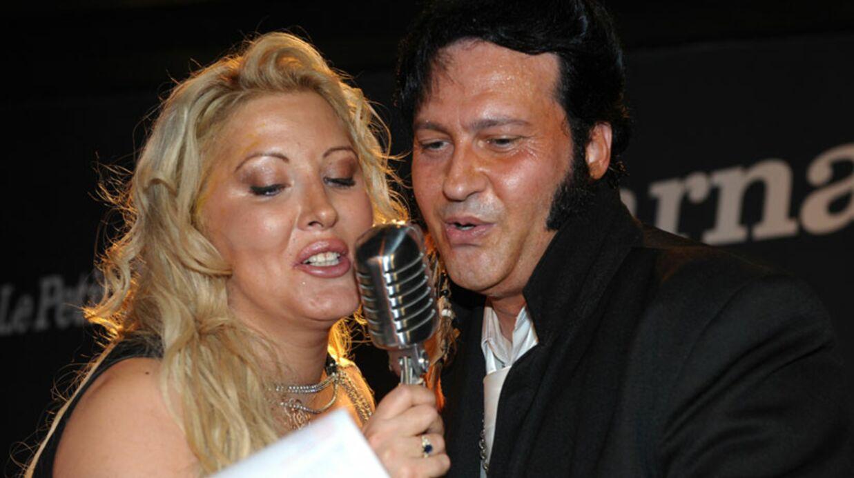 Loana en concert à Paris avec le Elvis français