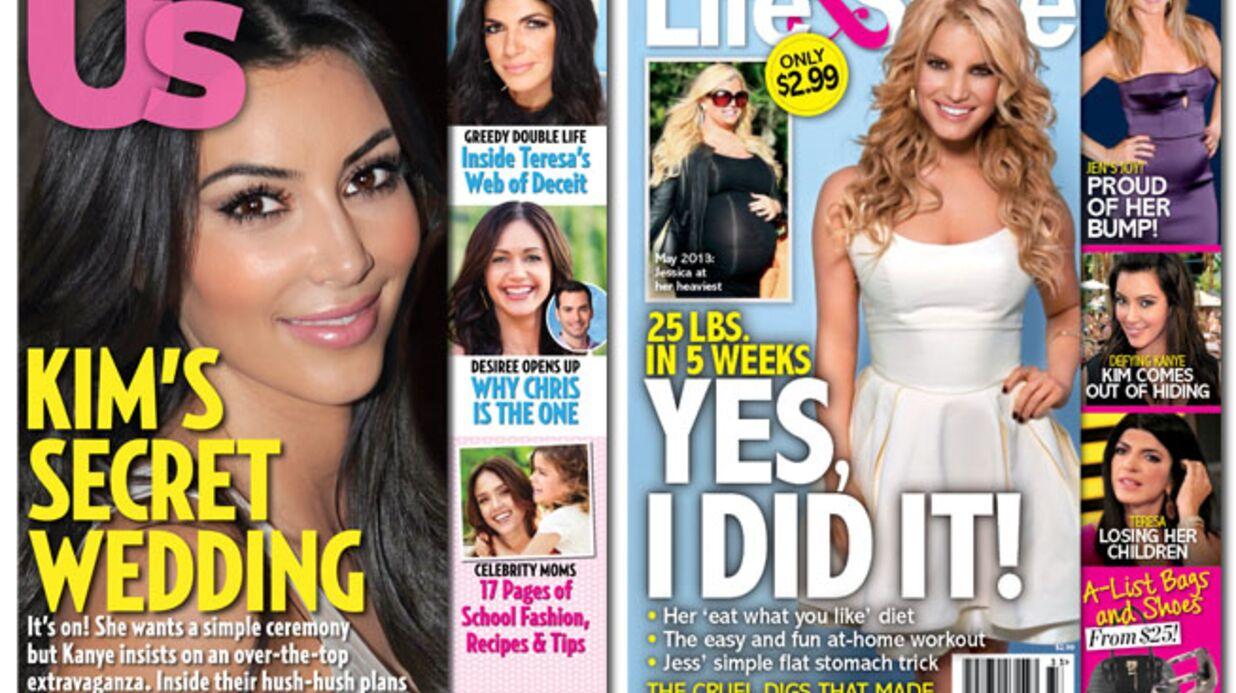En direct des US: Kim et Kanye préparent un mariage… à Paris