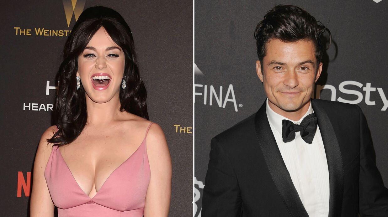 PHOTOS Katy Perry et Orlando Bloom: leur séance de pelotage en public…