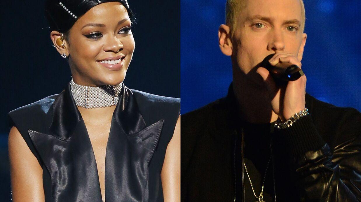 Rihanna et Eminem en duo sur la scène des MTV Movie Awards 2014