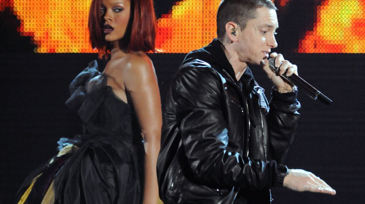 Rihanna et Eminem en duo sur la scène des MTV Movie Awards 2014