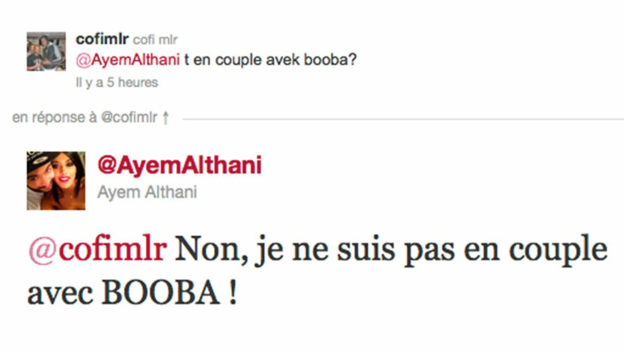 Ayem (Secret Story) dément être en couple avec Booba