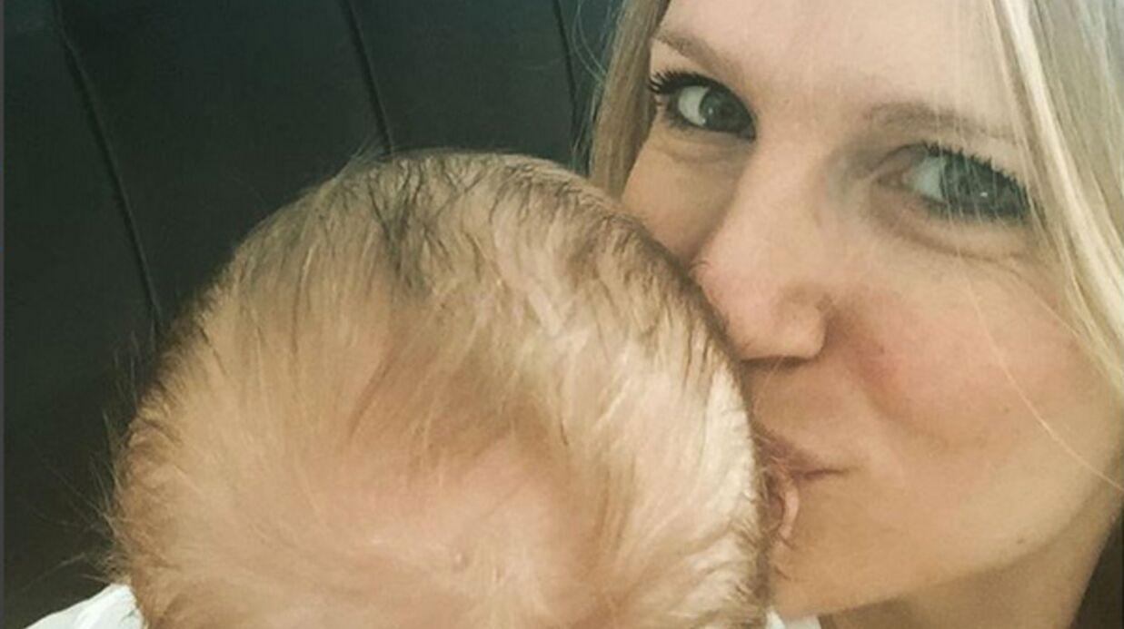 PHOTOS Sandrine Corman partage d'adorables clichés avec son bébé, Harold