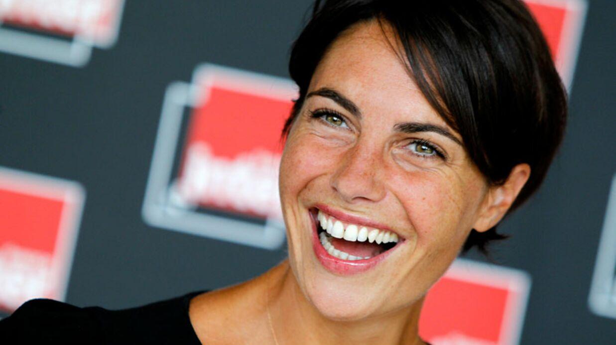 Julie Andrieu joker d'Alessandra Sublet pendant son congé mat
