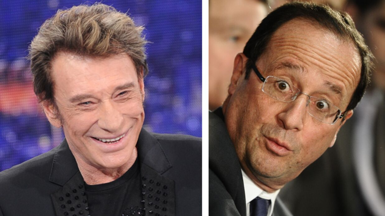 Johnny Hally­day et François Hollande ont dîné ensemble
