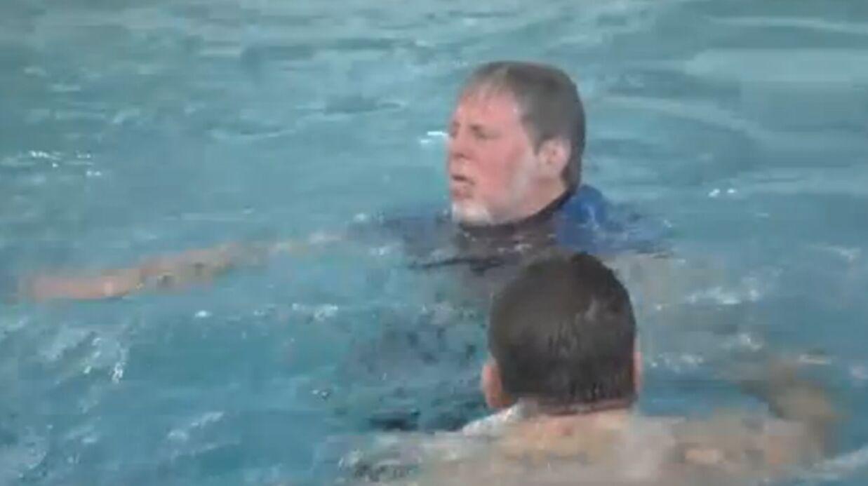 Un candidat de Splash ne sait pas nager