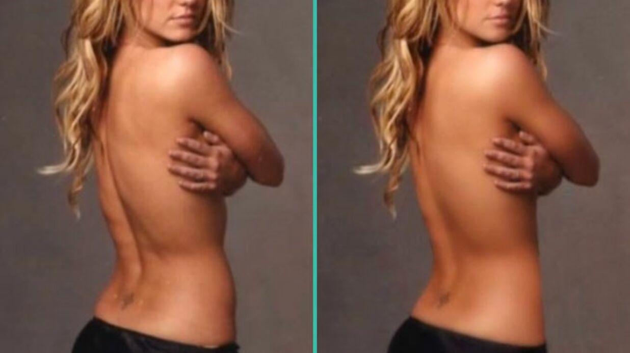 VIDEO Avant-Après Découvrez le vrai corps des stars avant Photoshop