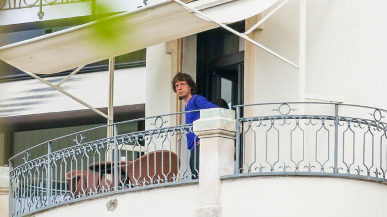 PHOTO Mick Jagger aperçu en compagnie d'une jeune femme brune à Zurich