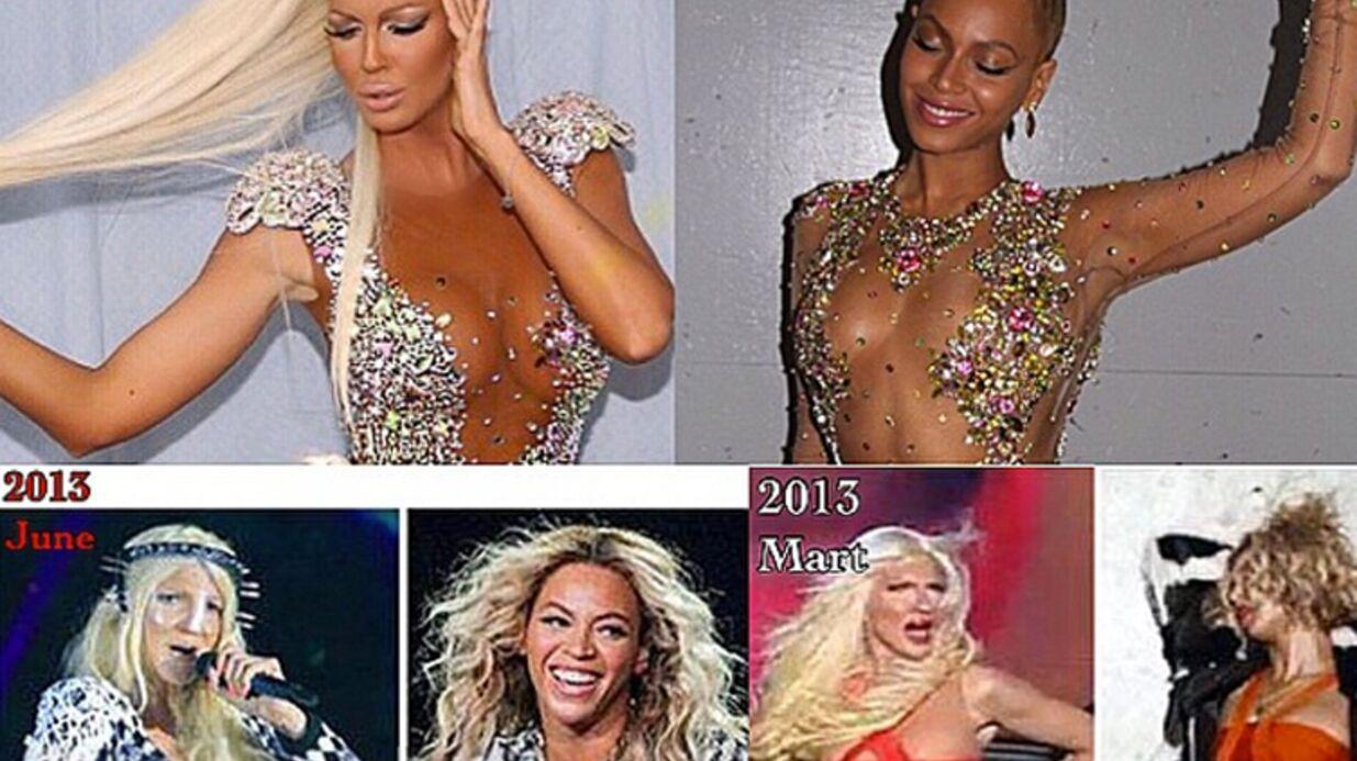 Beyoncé: une chanteuse serbe l'accuse de copier ses looks