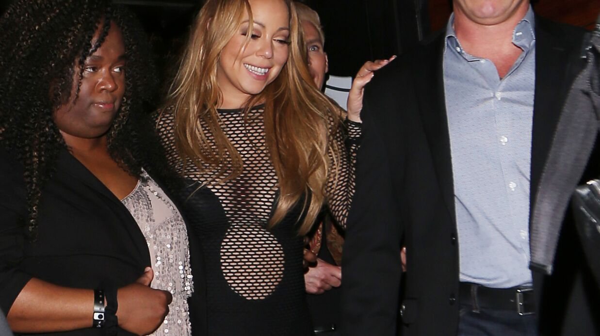 PHOTOS Mariah Carey fait la fête les fesses à l'air à Los Angeles