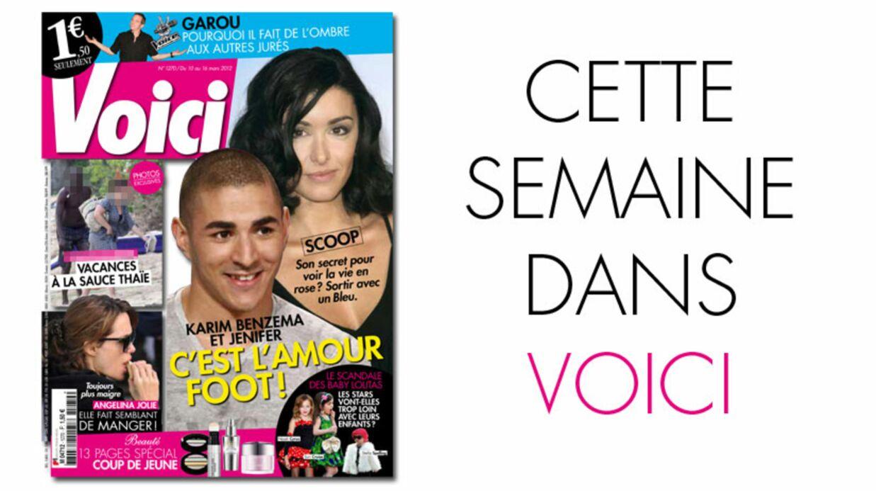 Cette semaine dans Voici: Jenifer et Karim Benzema amoureux!