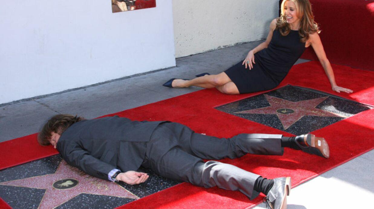PHOTOS Felicity Huffman et son mari étoilés sur Hollywood Bvd