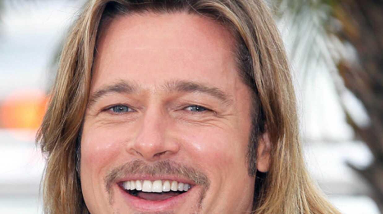 Brad Pitt aperçu ce matin dans une boutique de déco parisienne