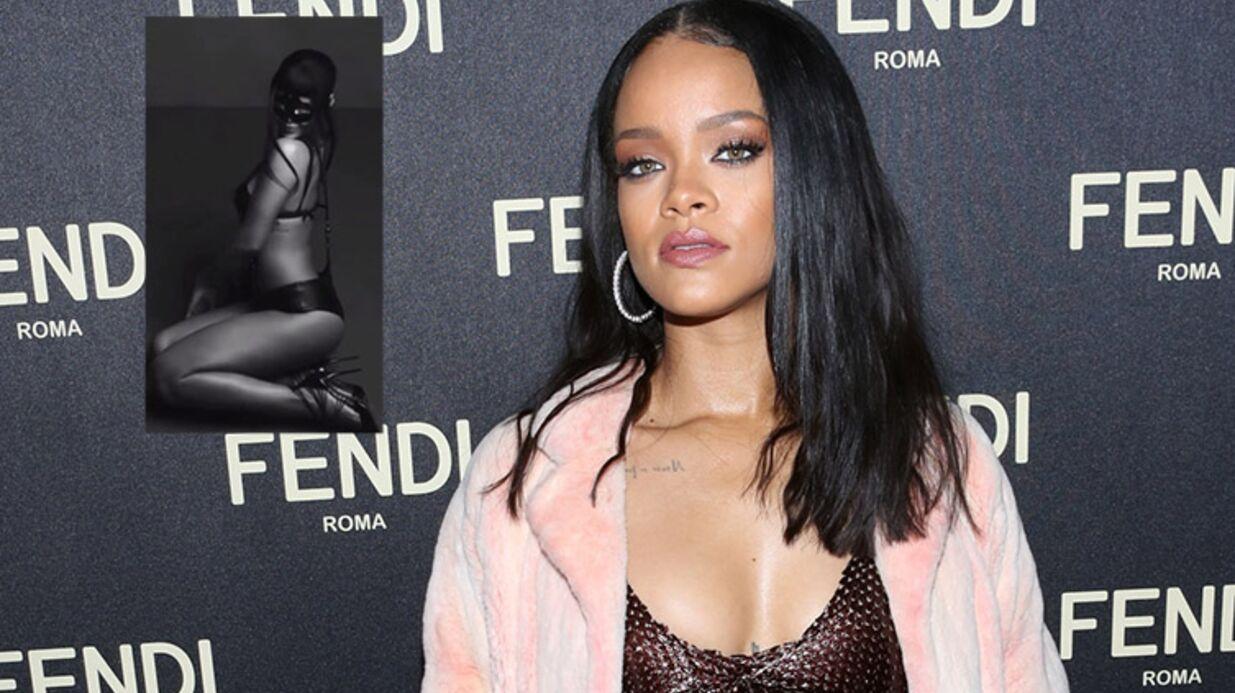 VIDEO Rihanna sexy en tenue SM sur Instagram