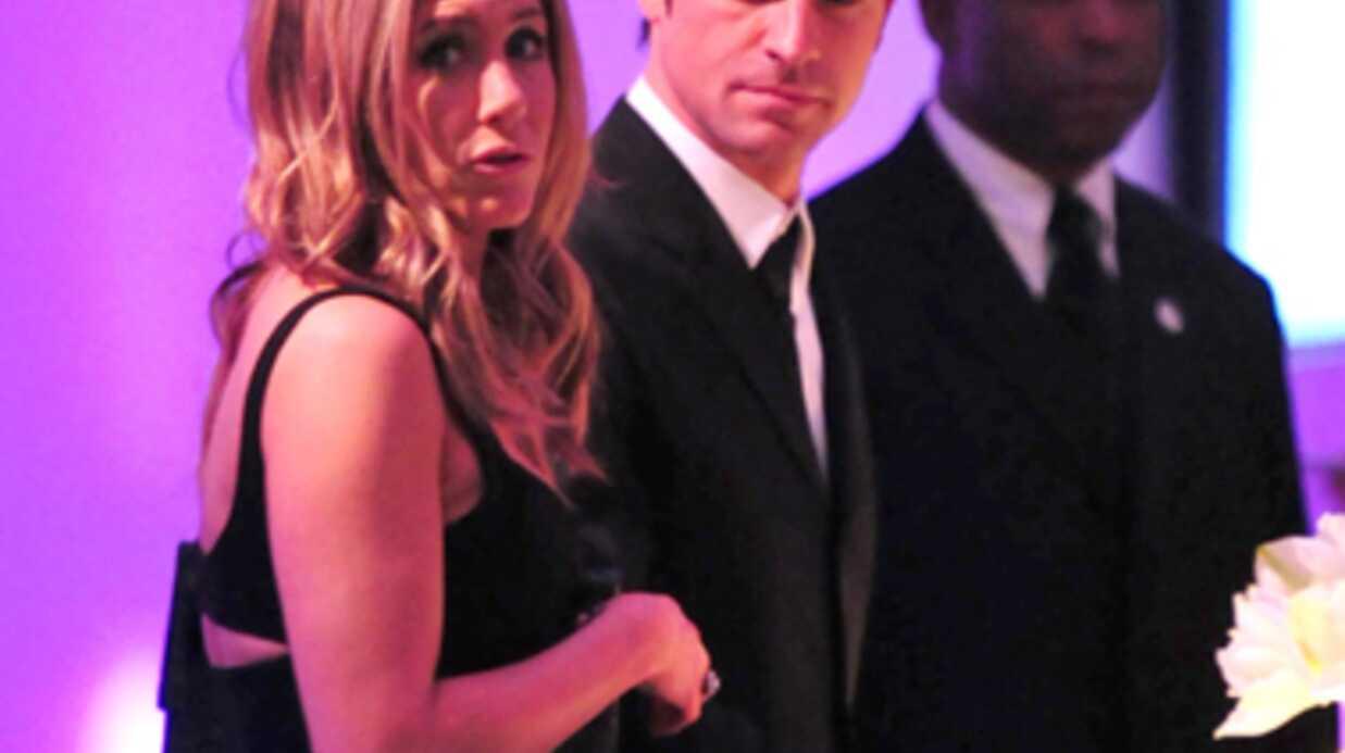 DIAPO Jennifer Aniston et Justin Theroux glamour à New York