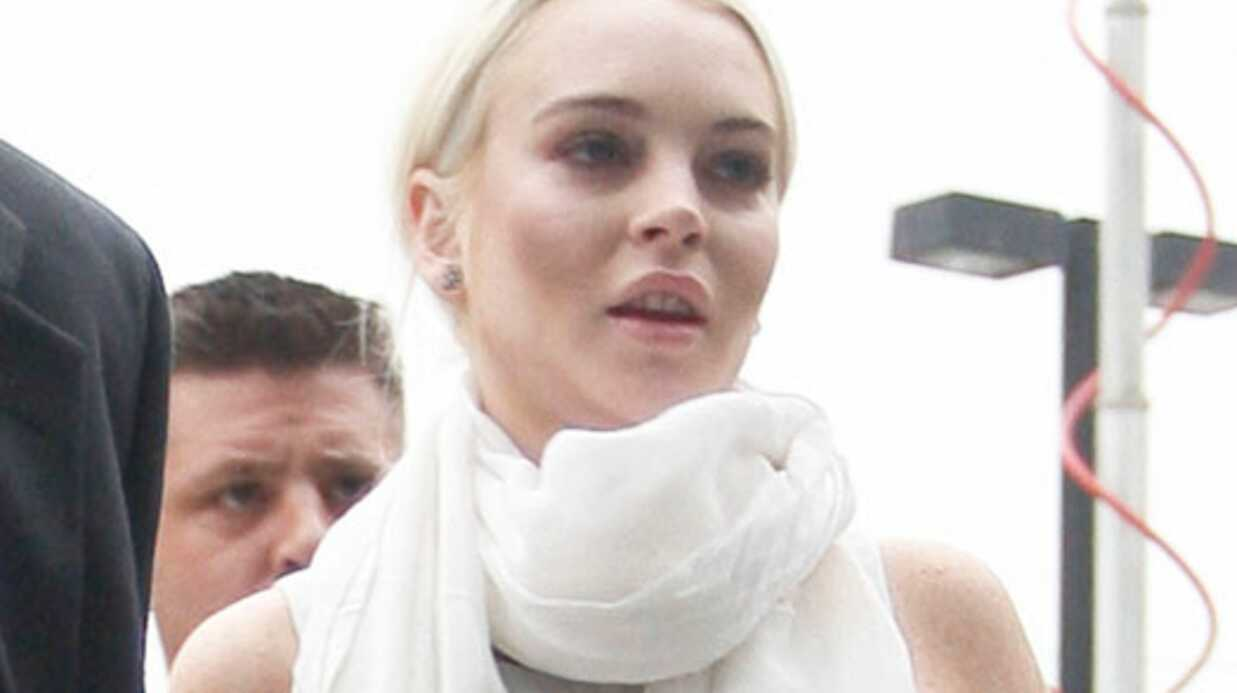 Lindsay Lohan traumatisée par ses quatre heures en prison