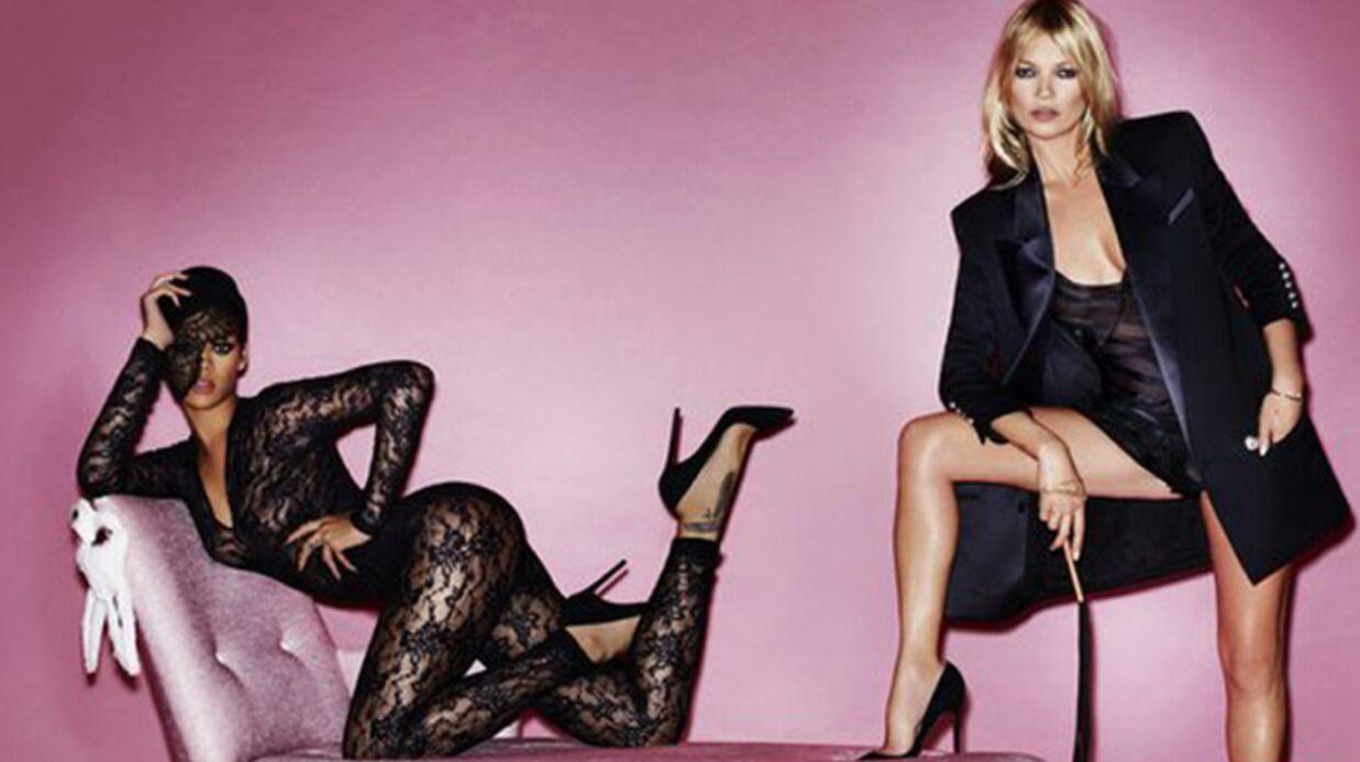 PHOTOS Le shooting hyper sexy de Rihanna et Kate Moss