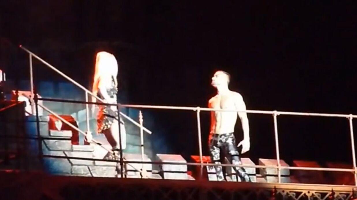 VIDEO Lady Gaga vomit trois fois sur scène à Barcelone