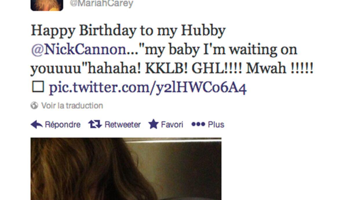 Mariah Carey offre une photo de ses seins à Nick Cannon