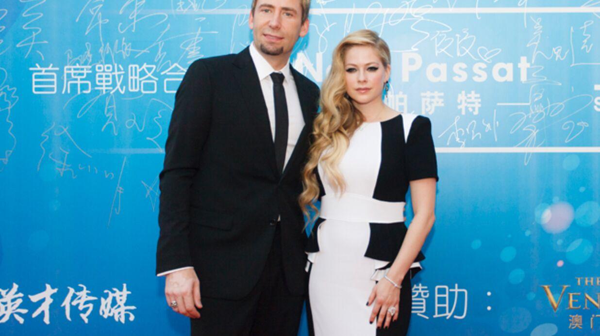 DIAPO Retour du bidon suspect d'Avril Lavigne aux Huading Awards