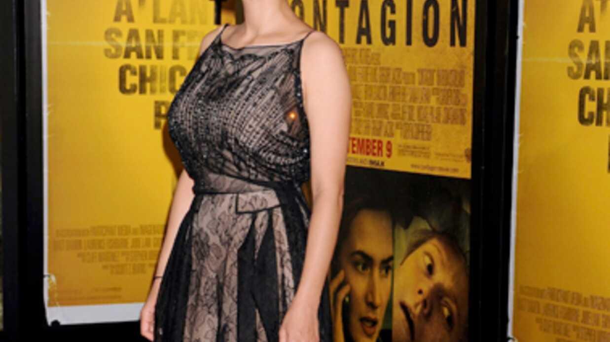 LOOK Marion Cotillard divine à la première de Contagion