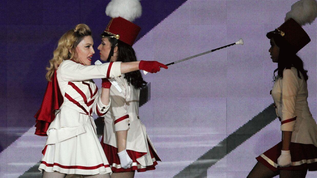 Madonna soutient Obama pendant ses concerts