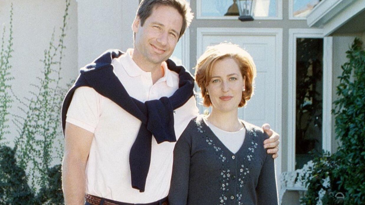 Gillian Ander­son et David Duchovny (X-Files) ensemble ?