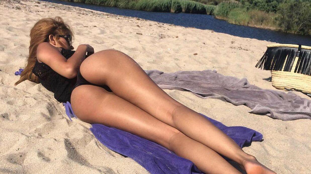 PHOTOS Zahia: en string, elle affole la toile