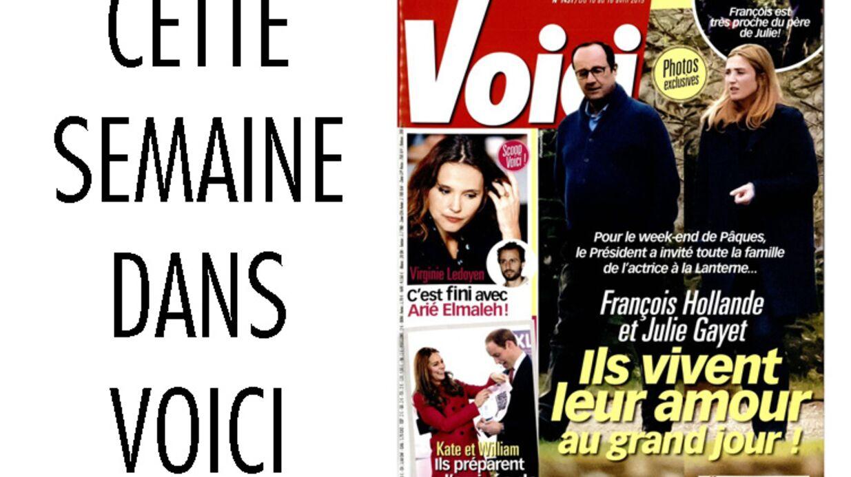 François Hollande et Julie Gayet en famille à la Lanterne: photos exclusives dans Voici