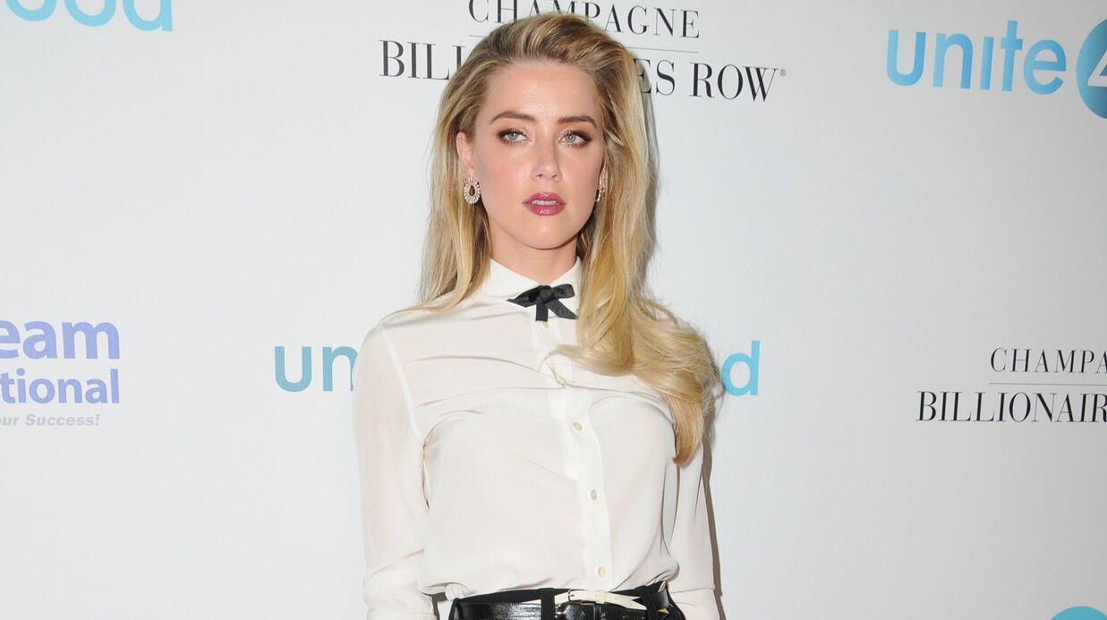 Amber Heard tombe «gravement malade» durant une soirée à Beverly Hills