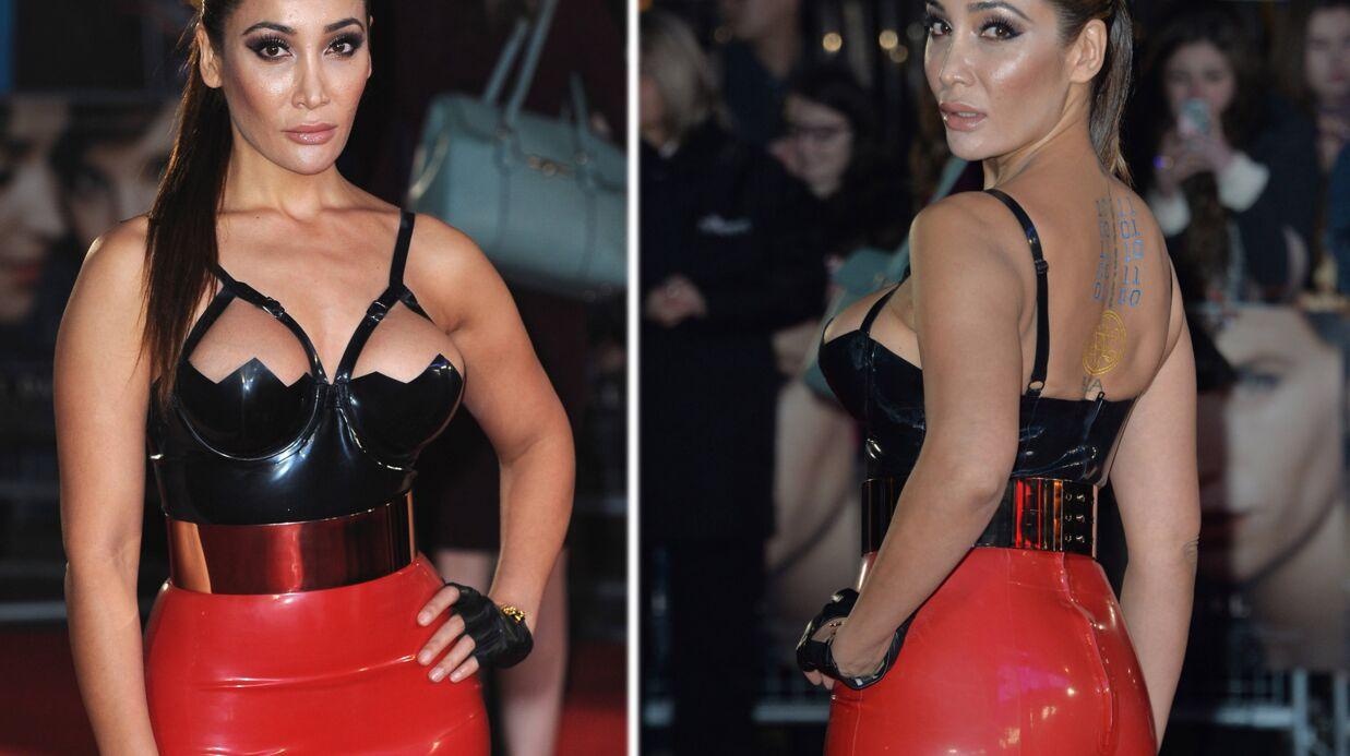 PHOTOS La tenue de red carpet étonnante et osée de Sofia Hayat
