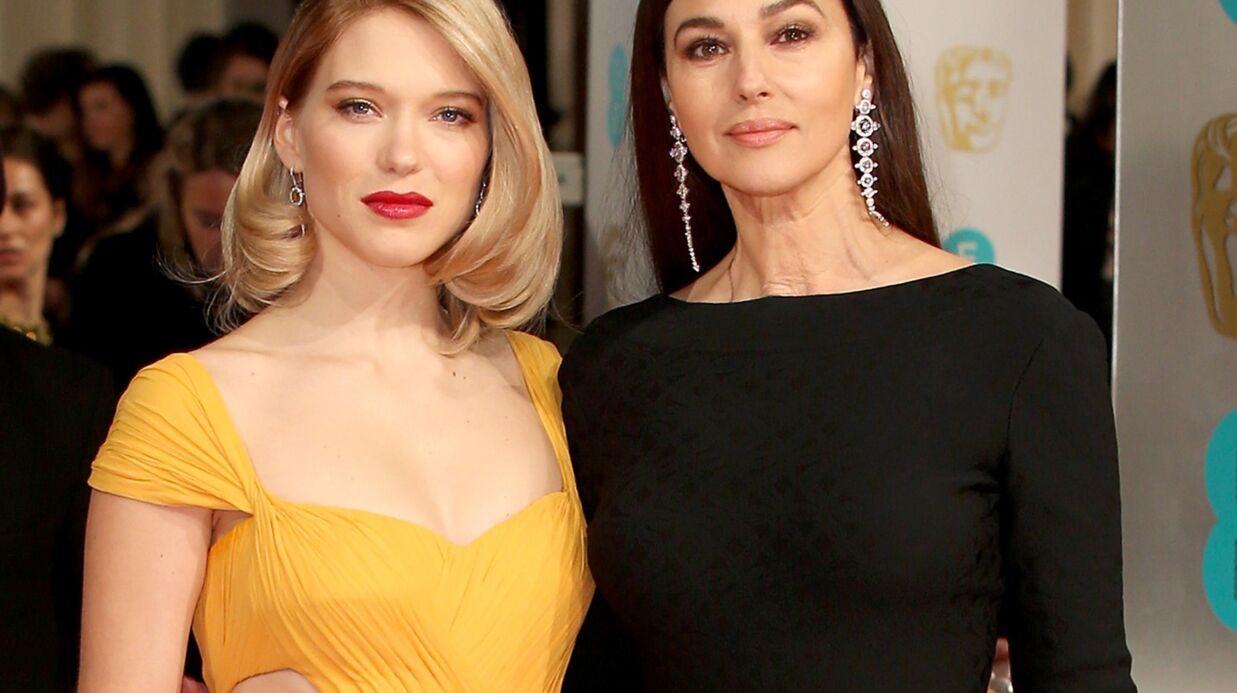 PHOTOS Léa Seydoux et Monica Bellucci illuminent les Baftas