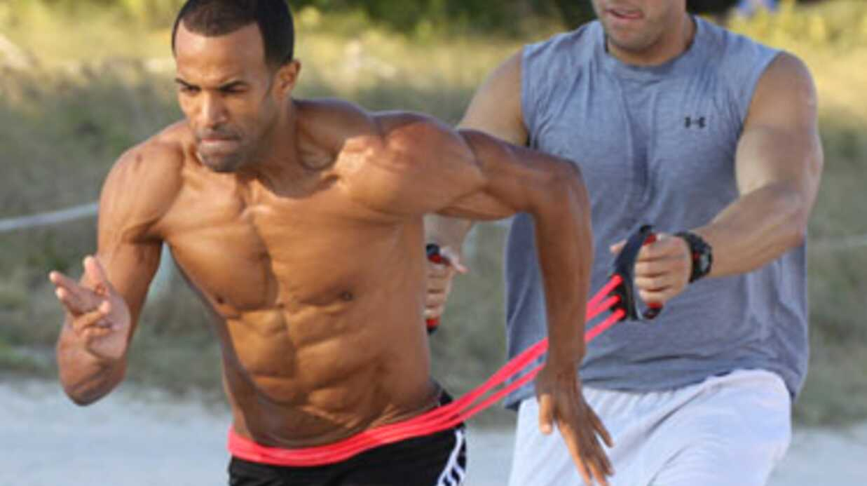 PHOTOS Craig David est devenu Monsieur Muscles