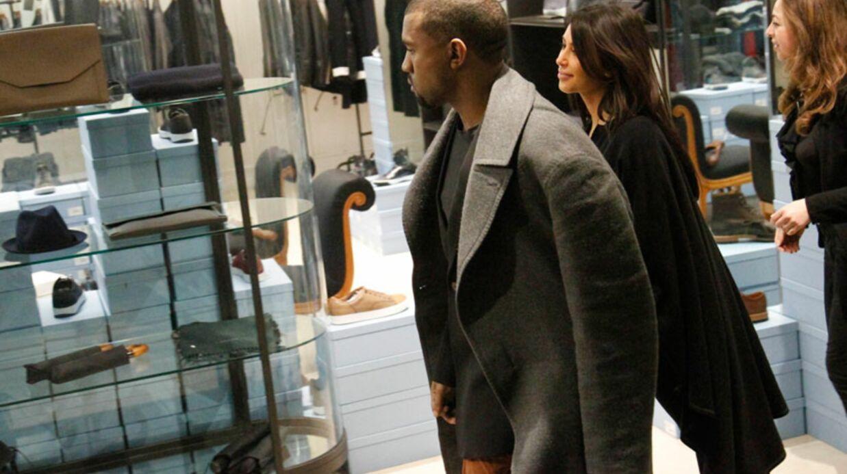 PHOTOS Kim Kardashian est à Paris pour dévaliser les boutiques