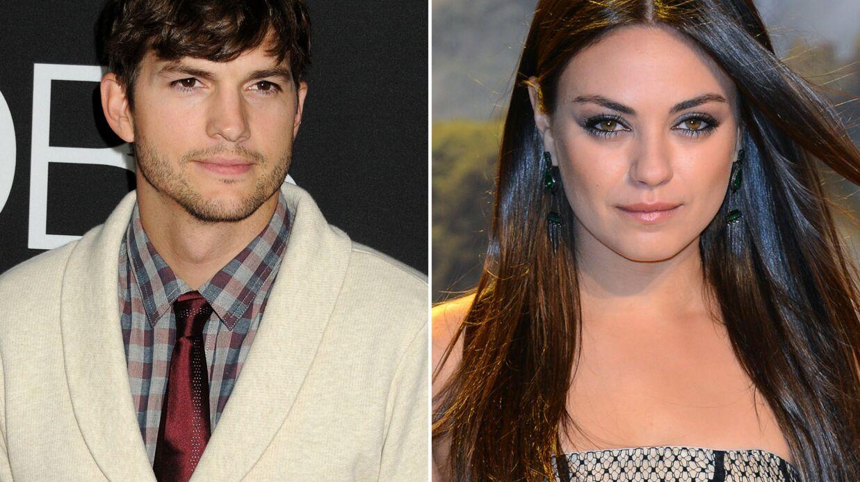 Les premières photos du bébé d'Ashton Kutcher et Mila Kunis dévoilées