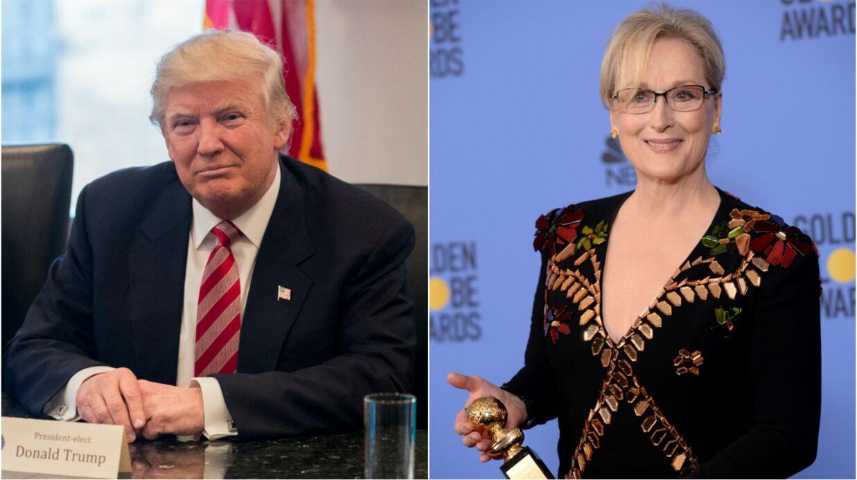 Donald Trump insulte Meryl Streep sur Twitter