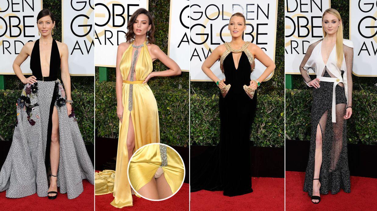PHOTOS Jessica Biel sexy, Emily Ratajkowski en montre trop: les looks des Golden Globes 2017
