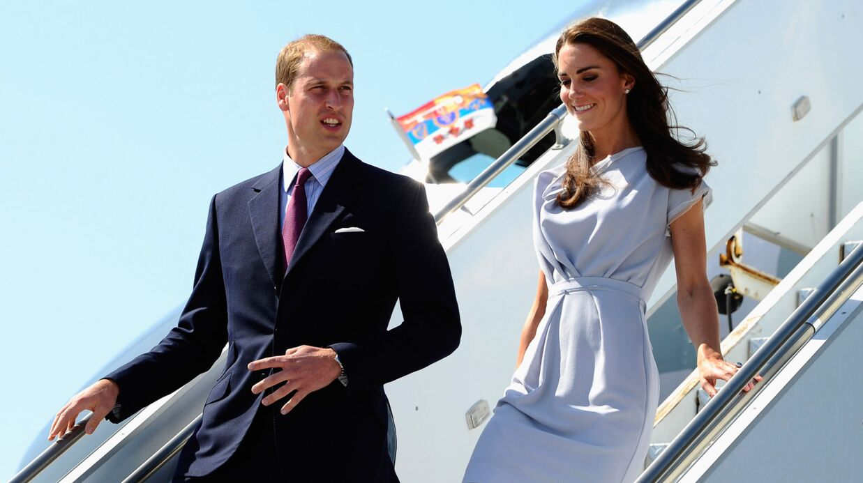 Prince William et Kate Midd­le­ton : atter­ris­sage en Cali­for­nie