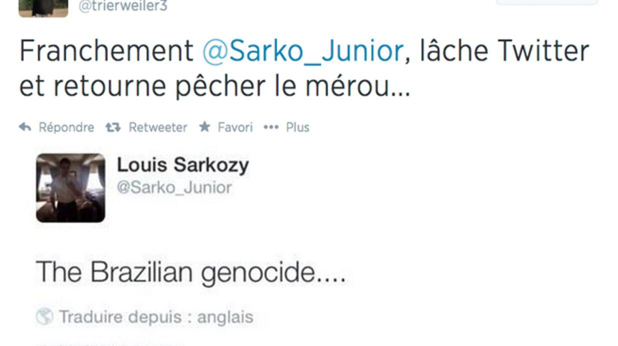 Le fils de Valérie Trierweiler clashe encore celui de Nicolas Sarkozy sur Twitter