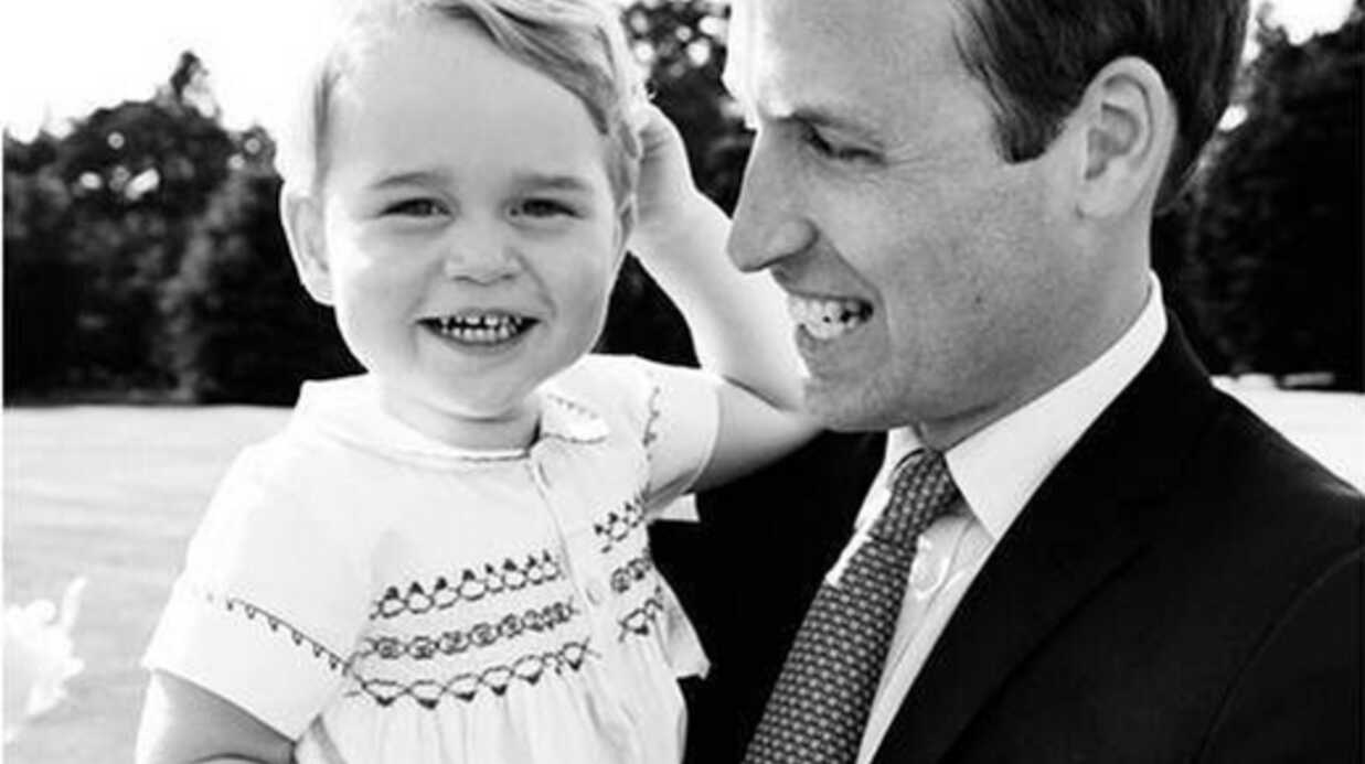 PHOTOS Kate et William : les photos offi­cielles (et craquantes) du baptême de Char­lotte