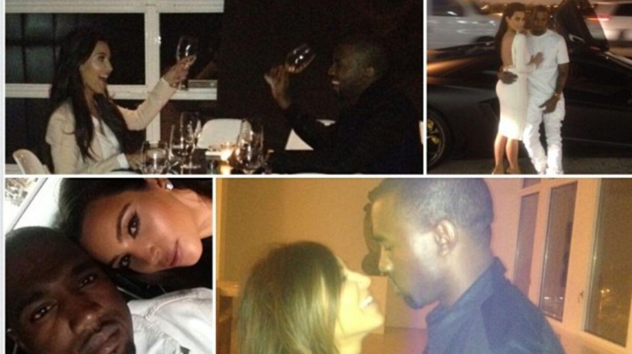Kim Kardashian fête l'anniversaire de Kanye West en lui déclarant sa flamme