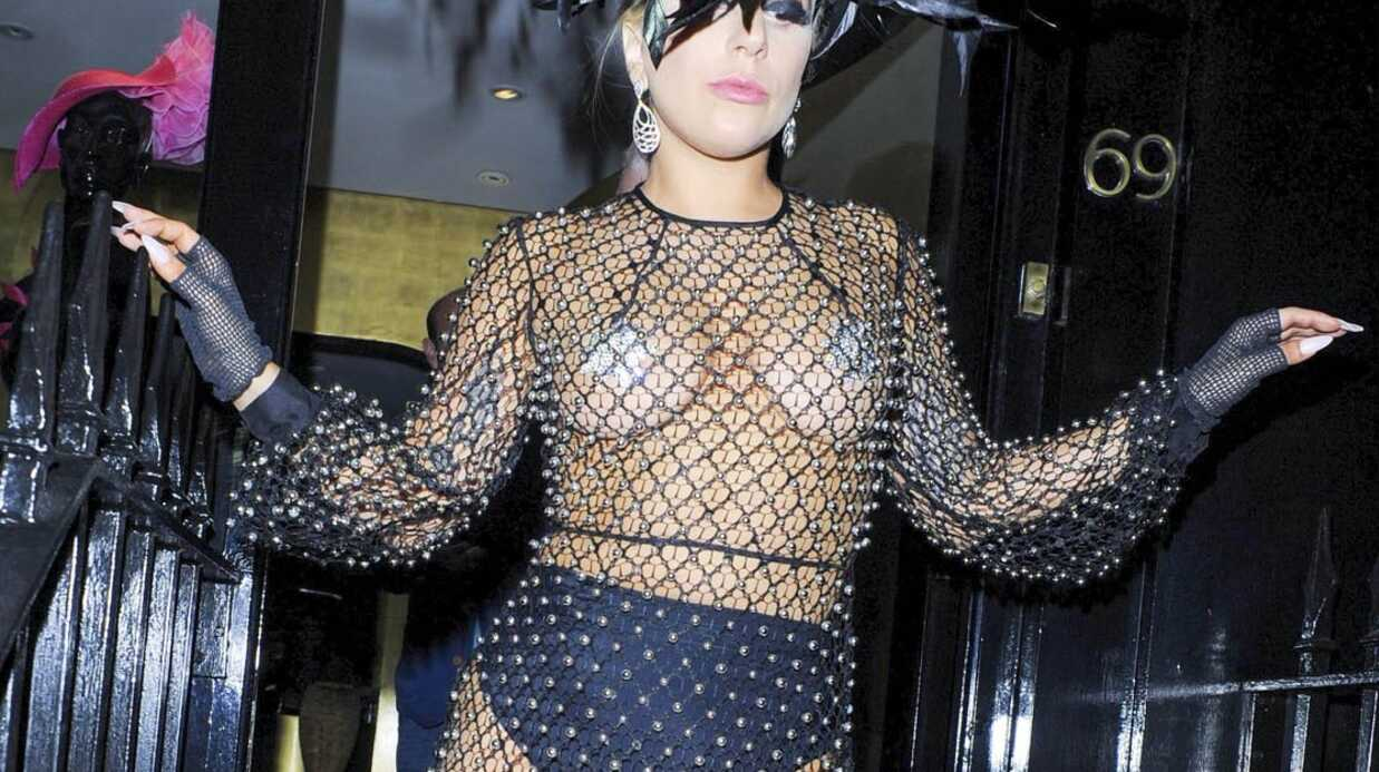 PHOTOS La tenue très (très) osée de Lady Gaga à Londres