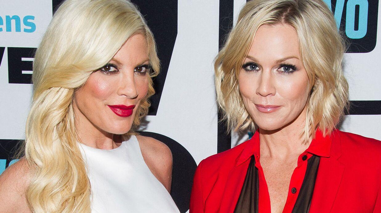 PHOTO Nostalgique des années Beverly Hills, Tori Spelling fait une belle déclaration  à Jennie Garth