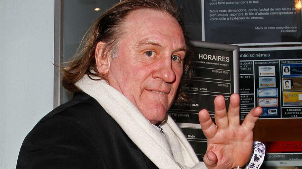 Gérard Depardieu au meeting de Nicolas Sarkozy?