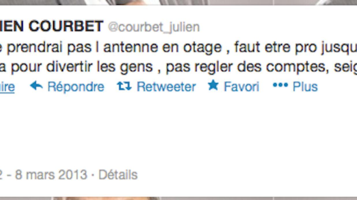 Dernier direct de Julien Courbet: «Je ne prendrai pas l'antenne en otage»