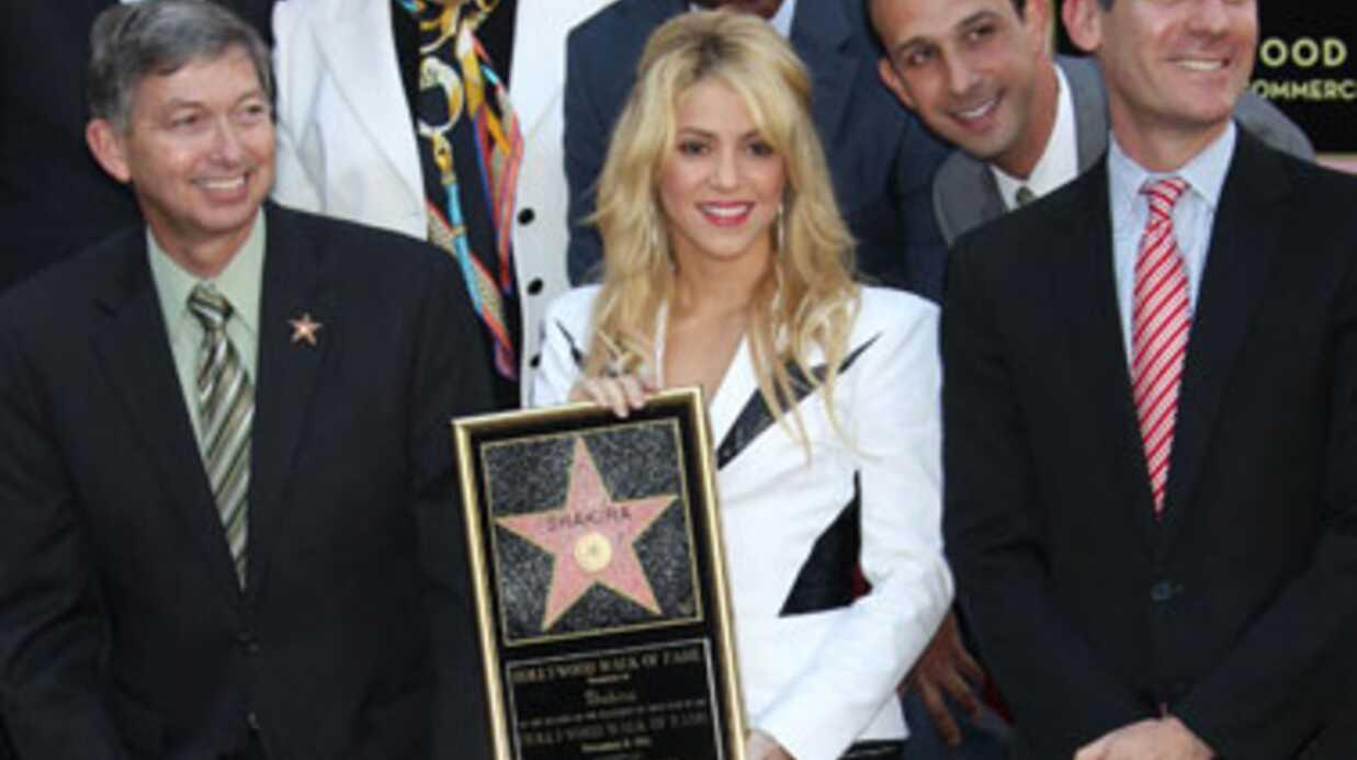 DIAPO Shakira inaugure son étoile sur Hollywood Boulevard