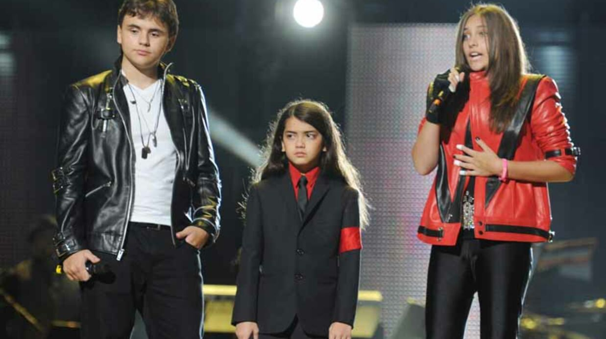 VIDEO Michael Jack­son : ses enfants à son concert hommage