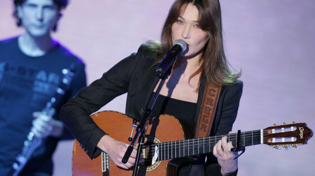 Carla Bruni en duo avec Enrico Macias